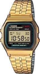Casio Casio Collection Kullansävytetty teräs 36.8x33.2 mm A159WGEA-1EF