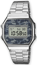 Casio Casio Collection LCD/Teräs 36.3x38.6 mm A168WEC-1EF