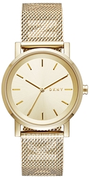 DKNY Dress Kullattu/Kullansävytetty teräs Ø34 mm NY2621