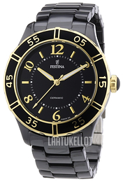 Festina Dress Musta/Keraaminen Ø38 mm F16633-2