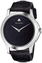 Gucci G-Timeless Musta Nahka Ø38 mm YA1264031 c6a48c4158