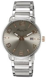 Kenneth Cole Classic Harmaa/Teräs Ø42 mm KC9393