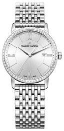Maurice Lacroix Eliros Date Ladies Hopea/Teräs Ø30 mm EL1094-SD502-110-1