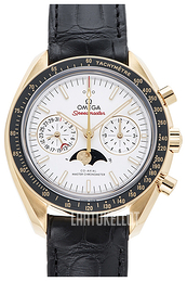 Omega Speedmaster Moonwatch Hopea/Nahka Ø44.25 mm 304.63.44.52.02.001