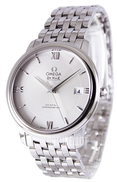 Omega De Ville Prestige Co-Axial 36.8mm Hopea/Teräs Ø36.8 mm 424.10.37.20.02.001