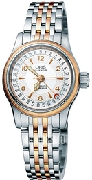 Oris Aviation Hopea/Punakultasävyinen Ø29 mm 01 594 7695 4361-07 8 14 32