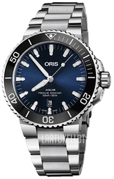 Oris Diving Sininen/Teräs Ø43.5 mm 01 733 7730 4135-07 8 24 05PEB