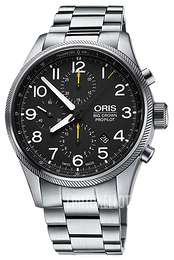 Oris Aviation Musta/Teräs Ø44 mm 01 774 7699 4134-07 8 22 19