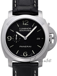 Panerai Contemporary Luminor 1950 3 Days Automatic Musta/Nahka Ø44 mm PAM 312