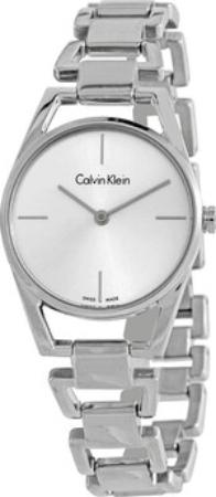 Calvin Klein 99999 Naisten kello K7L23146 Valkoinen/Teräs Ø30 mm