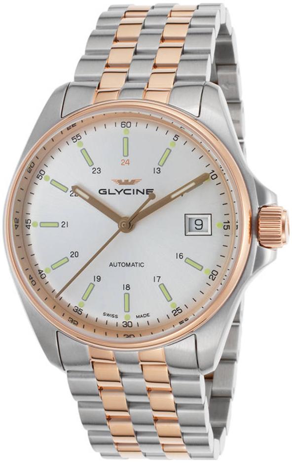 Glycine Combat GL0108 Hopea/Punakultasävyinen Ø36 mm
