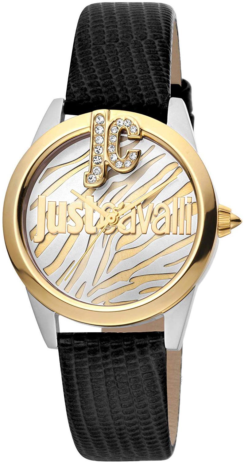 Just Cavalli 99999 Naisten kello JC1L099L0045 Monivärinen/Nahka Ø32