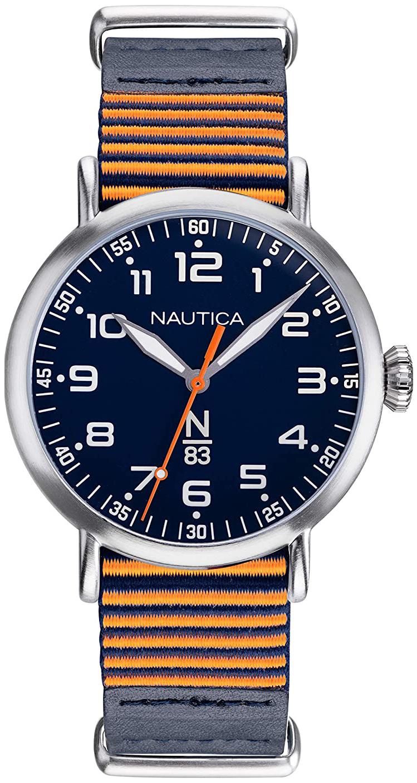 Nautica 99999 Miesten kello NAPWLS901 Sininen/Tekstiili Ø40 mm