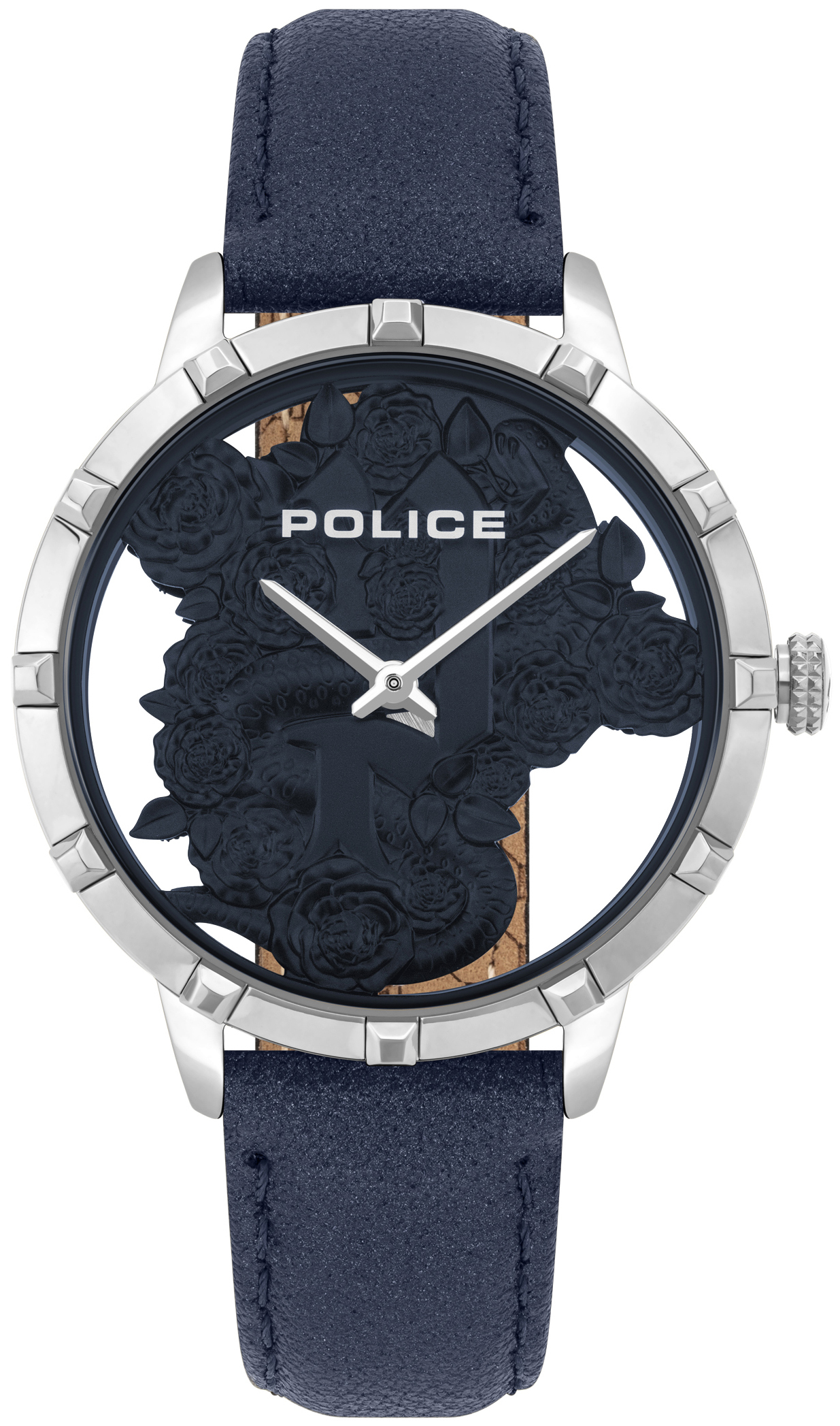 Police Marietas Naisten kello PL16041MS.03 Sininen/Nahka Ø36 mm