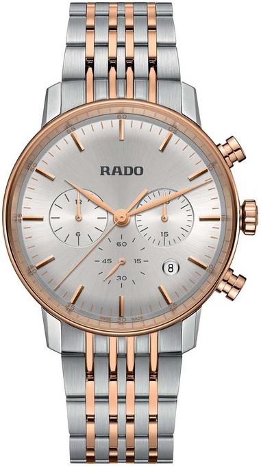 Rado Coupole Miesten kello R22910123 Hopea/Punakultasävyinen Ø42 mm
