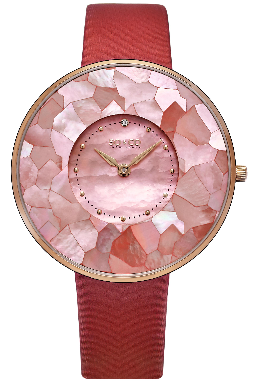 So & Co New York SoHo Naisten kello 5274.3 Pinkki/Satiini Ø38 mm