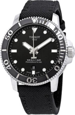 Tissot Seastar 1000 Miesten kello T120.407.17.051.00 Musta/Kumi Ø43