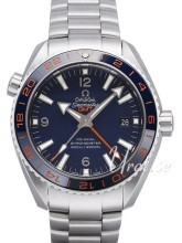 Omega Seamaster Planet Ocean 600m Co-Axial GMT 43.5mm Sininen/Te