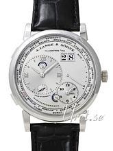 A. Lange & Söhne Lange 1 GMT Platinum Silver Dial