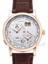 A. Lange & Söhne Lange 1 GMT Rose Gold White Dial
