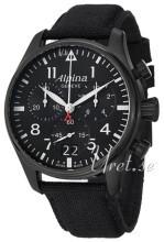 Alpina Startimer Musta/Nahka
