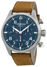 Alpina Startimer Sininen/Nahka Ø44 mm