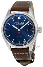 Alpina Startimer Sininen/Nahka Ø45.5 mm