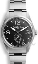 Bell & Ross BR 123 Musta/Teräs Ø41 mm