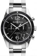 Bell & Ross BR 126 Musta/Teräs