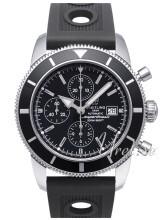 Breitling Superocean Heritage Chronograph Musta/Kumi Ø46 mm