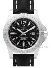 Breitling Colt 44 Automatic Musta/Nahka