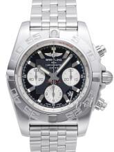 Breitling Chronomat 44 Musta/Teräs