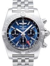 Breitling Chronomat 44 GMT Sininen/Teräs