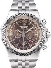 Breitling for Bentley GMT Ruskea/Teräs