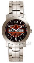 Bulova Harley-Davidson Musta/Teräs Ø30 mm