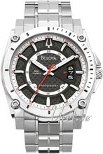 Bulova Precisionist Musta/Titaani Ø46 mm