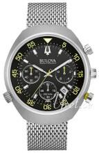 Bulova Accutron Musta/Teräs Ø45 mm