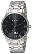 Bulova Bracelet Harmaa/Teräs Ø40 mm