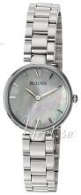 Bulova Bracelet Valkoinen/Teräs Ø27 mm