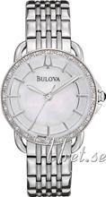Bulova Diamond Valkoinen/Teräs Ø30 mm
