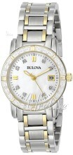 Bulova Marine Star Ladies Diamond Two Tone MOP Dial