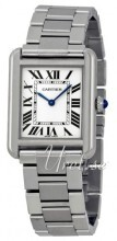 Cartier Tank Solo Small Hopea/Teräs 24.4x31 mm