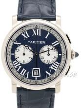 Cartier Rotonde de Cartier Sininen/Nahka Ø40 mm