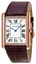 Cartier Tank Louis Hopea/Nahka