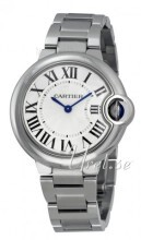 Cartier Ballon Blue Hopea/Teräs Ø33 mm