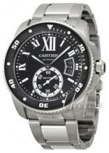 Cartier Calibre De Cartier Musta/Teräs Ø42 mm
