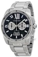 Cartier Calibre de Cartier Musta/Teräs
