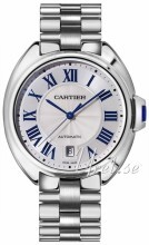 Cartier Calibre de Cartier Hopea/18K valkokultaa Ø40 mm