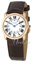 Cartier Ronde LC Rose Gold Silver Dial