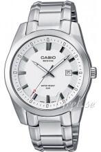 Casio Valkoinen/Teräs Ø37.3 mm